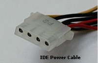 IDE Power Cable.