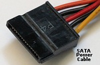 SATA Power Cable.